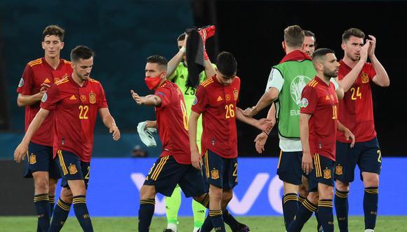 España tiene dos puntos en el Grupo E y ante Eslovaquia se juega su clasificación a los Octavos de Final de la Eurocopa (Foto: AFP)