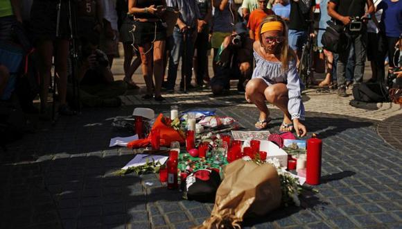 Una semana después, los agentes del orden de Cataluña abatieron al autor material del atentado. (AFP)