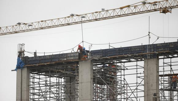 En el segundo bimestre de este año, las operaciones de las empresas constructoras aumentaron en 4.89%. (Foto: GEC)