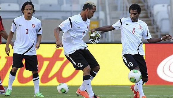 La 'cenicienta' de la Copa se alista para el encuentro de hoy. (AFP)