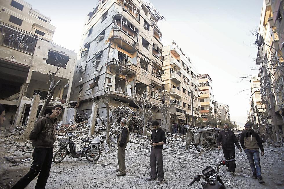 Ataque químico en Siria. (USI)