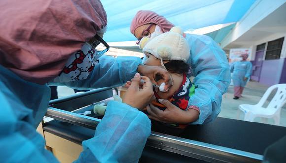 Minsa busca que menores de 5 años completen su esquema de vacunación. (Foto: Minsa)