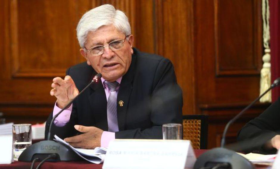 Jorge Castro, vicepresidente de la comisión Lava Jato. (Perú21)