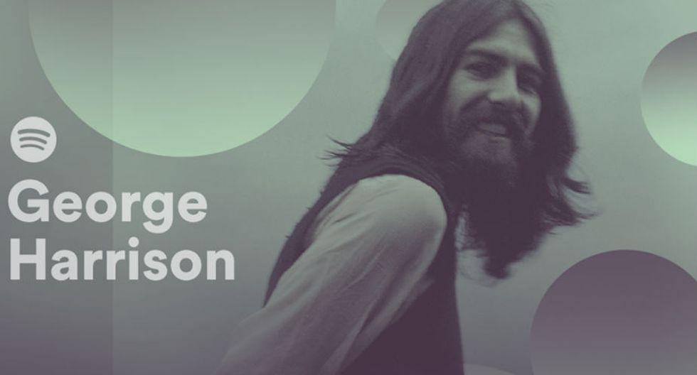 George Harrison fue el primer Beatle que publicó un disco en solitario. (Spotify)