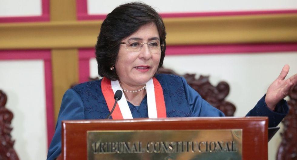 Marianella Ledesma dice que extender el mandato de los magistrados está en manos del Congreso (GEC).