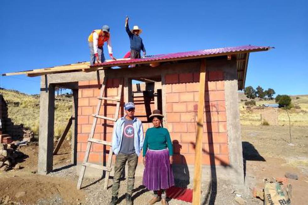 Más de 6,000 familias se verán beneficiadas con la construcción de2,771 viviendasen 16 provincias y 42 distritos de las regiones de Cusco y Puno. (Foto: Andina)