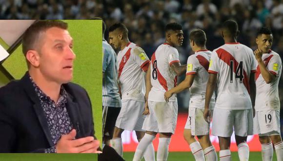 "Periodista argentino califica de ""papita"" a la Selección Peruana"