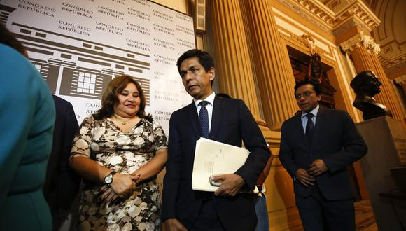 Janet Sánchez considera que Jorge Meléndez debe dejar el cargo de ministro (Piko Tamashiro/GEC)