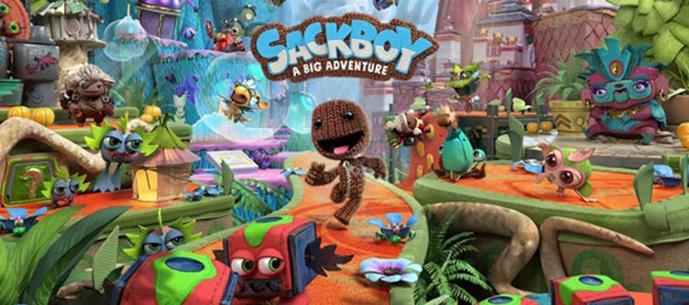 Sackboy: A big Adventure ya se encuentra disponible para PlayStation 4 y PlayStation 5.