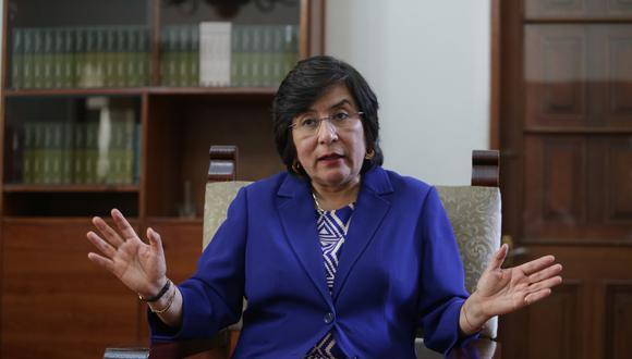 Marianella Ledesma es presidenta del TC. (Foto: GEC)