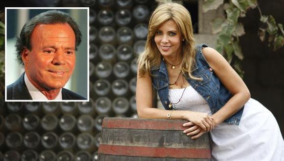 Maritere Braschi confesó que Julio Iglesias la quiso galantear. (USI)