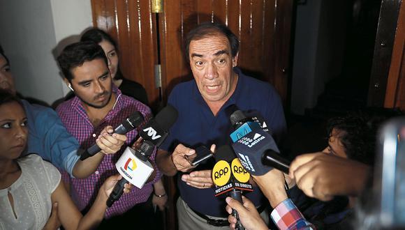 EN LA CUERDA FLOJA. El martes, la Comisión de Ética del Congreso revisará el caso de Lescano en una sesión extraordinaria. (Lino Chipana)