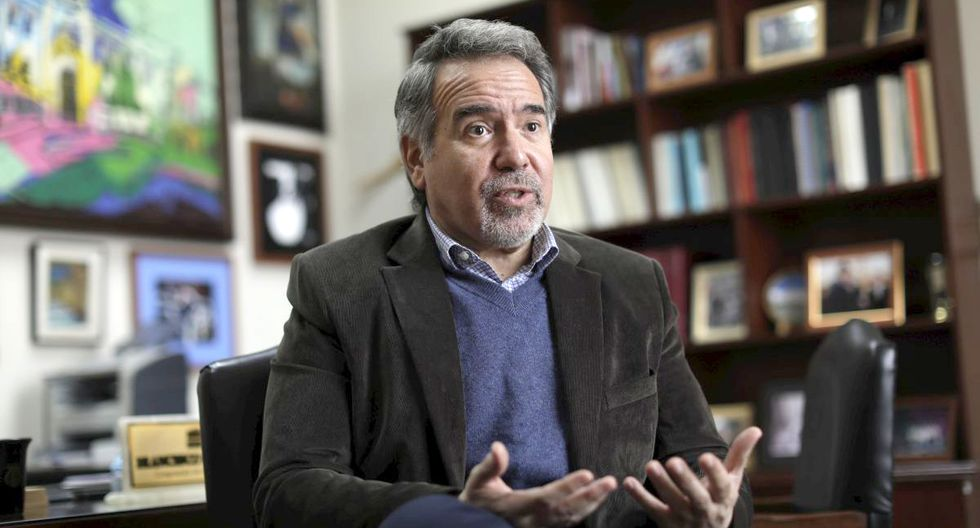 Francesco Petrozzi asumió la cartera de Cultura el 3 de octubre último. (Foto: GEC).