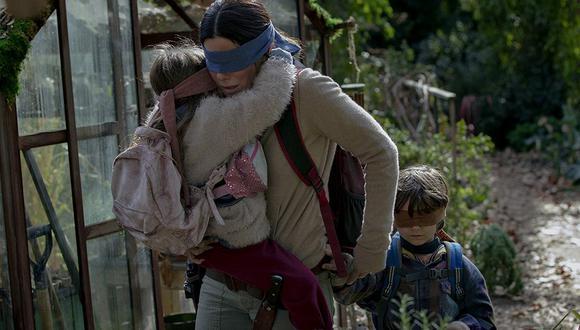 """""""Bird Box: a ciegas"""" ha sido calificada como una de las películas más aterradoras del 2018. (Foto: Netflix)"""