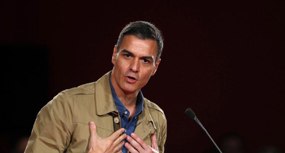 """""""Lo que estoy haciendo ahora como presidente del Gobierno es resolver una crisis de Estado que el PP agravó cuando estuvo en el Gobierno"""", dijo Pedro Sánchez. (Foto: EFE)"""