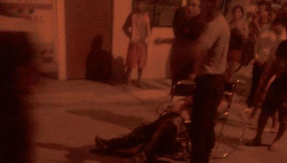 El padre recibió un disparo en la cabeza, mientras que el hijo recibió una bala en el pecho. (Nepeña Distrito Próspero)