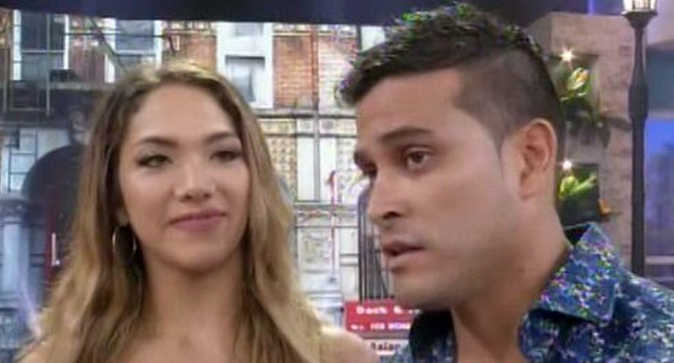 Christian Domínguez y Isabel Acevedo (América TV)