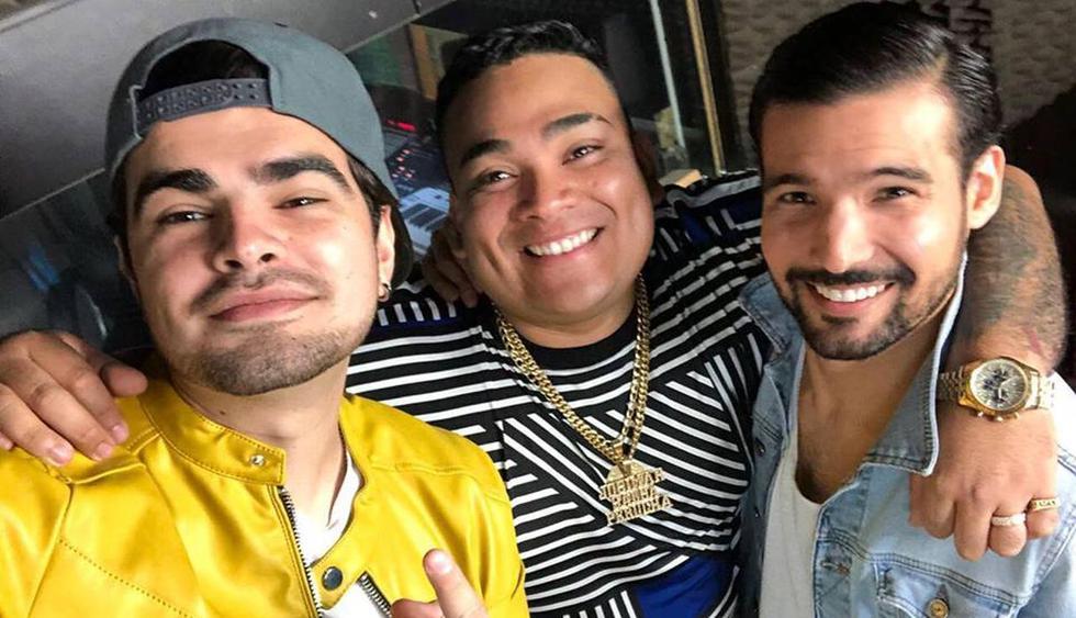 """Ezio Oliva lanzó en YouTube la versión salsa de su tema """"Con él"""" junto a Josimar y su Yambú. (Foto: Captura de video)"""