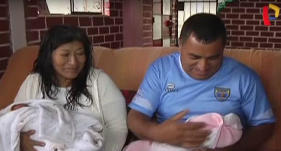 Mujer de 50 años dio a luz. (Panamericana TV)