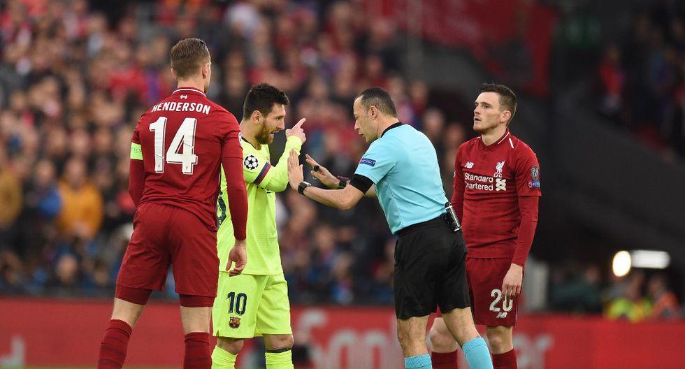Robertson habló sobre su episodio con Messi casi un año después de la clasificación del Liverpool en esa serie y su posterior consagración en el certamen. (Foto: AFP)