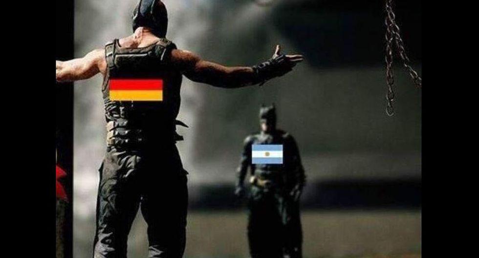 Alemania supo dominar en los momentos claves del partido.