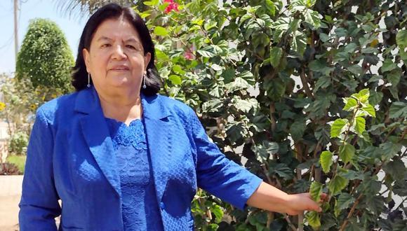 Gloria Marín es responsable de la sede desconcentrada del IGP en Chiclayo.