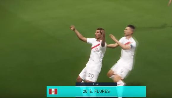 PES 2018: Perú 2 - 0 Colombia