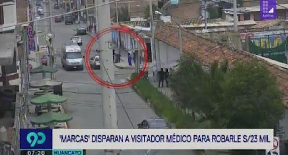 De acuerdo a '90 Matinal', Casas Torres había hecho el retiro del dinero en un banco y luego se dirigió al colegio. (Video: Latina)