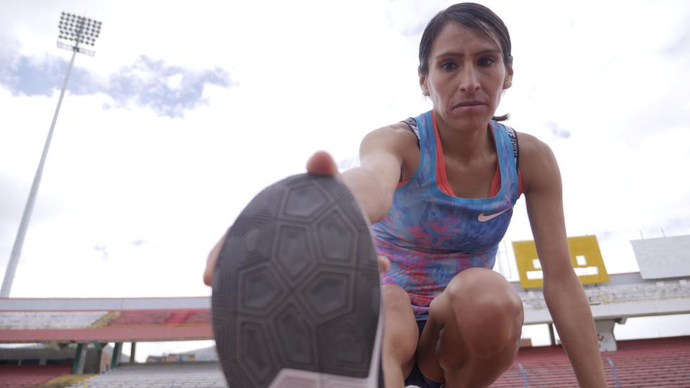 Una luchadora incansable. Gladys Tejeda no deja de entrenar y soñar.
