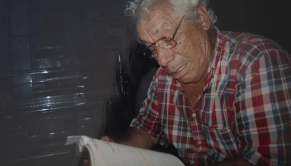 El actor Guillermo Campos falleció a los 92 años el 10 de enero pasado. (photo.gec)