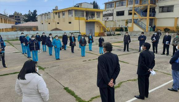 Puno: dieciocho profesionales de la salud llegan a la región para combatir el COVID-19 (Foto: Gore Puno).