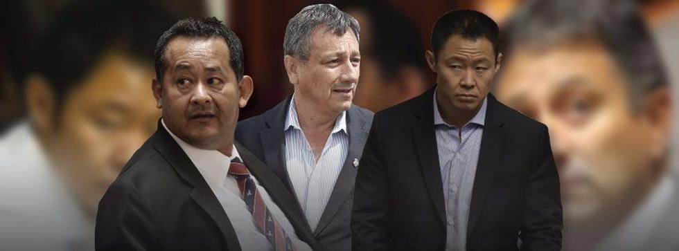Fujimori, Bocángel y Ramírez