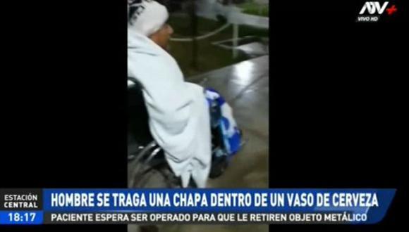 El hombre será sometido a una operación en el hospital Arzobispo Loayza. (ATV+)