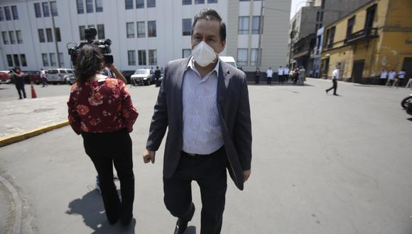 """José Vega señala que si """"más peruanos siguen muriendo"""" presentará una moción de vacancia contra Francisco Sagasti. (Foto: GEC)"""