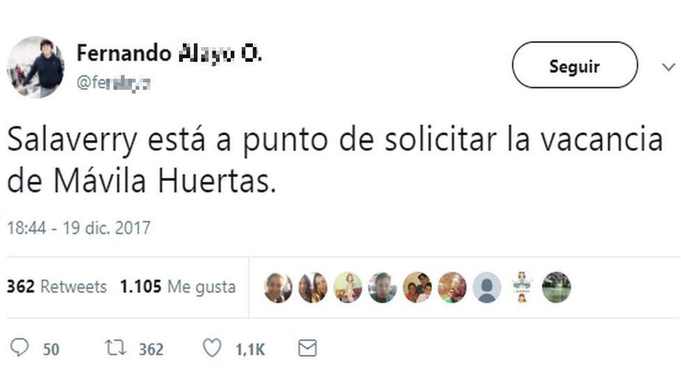 Así reaccionaron en redes sociales tras entrevista de Mávila Huertas a Daniel Salaverry. (Twitter)
