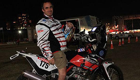 Martínez Boero sufrió graves traumatismos por el accidente. (Dakar.com)