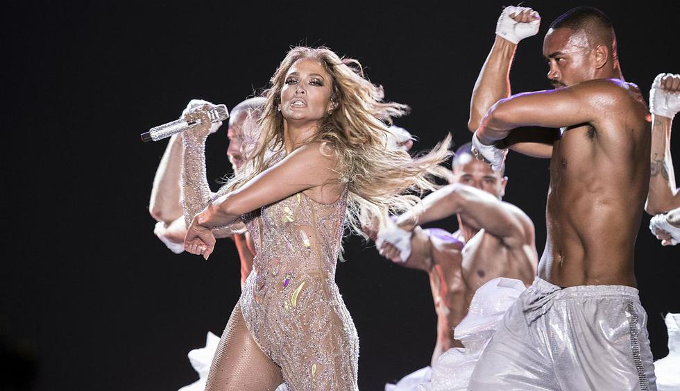 """Jennifer Lopez es demandada por presentarse con """"vestidos trasparentes"""" en Egipto. (Foto: AFP)"""