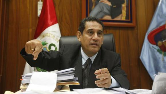 Mesías Guevara pidió al fiscal José Peláez que deje amenazas. (Perú21)