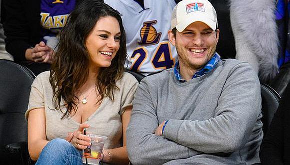 Ashton Kutcher y Mila Kunis confirmaron que esperan a su segundo hijo. (Getty Images)