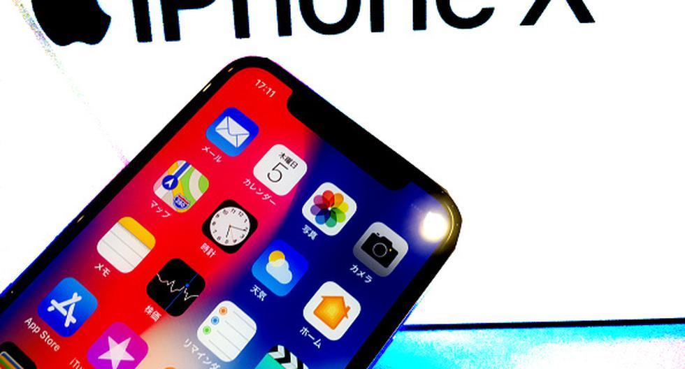 iPhone X. (Getty)