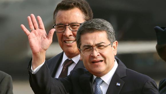 Juan Orlando Hernández y otros políticos hondureños son vinculados al narcotráfico. (Foto: Reuters)