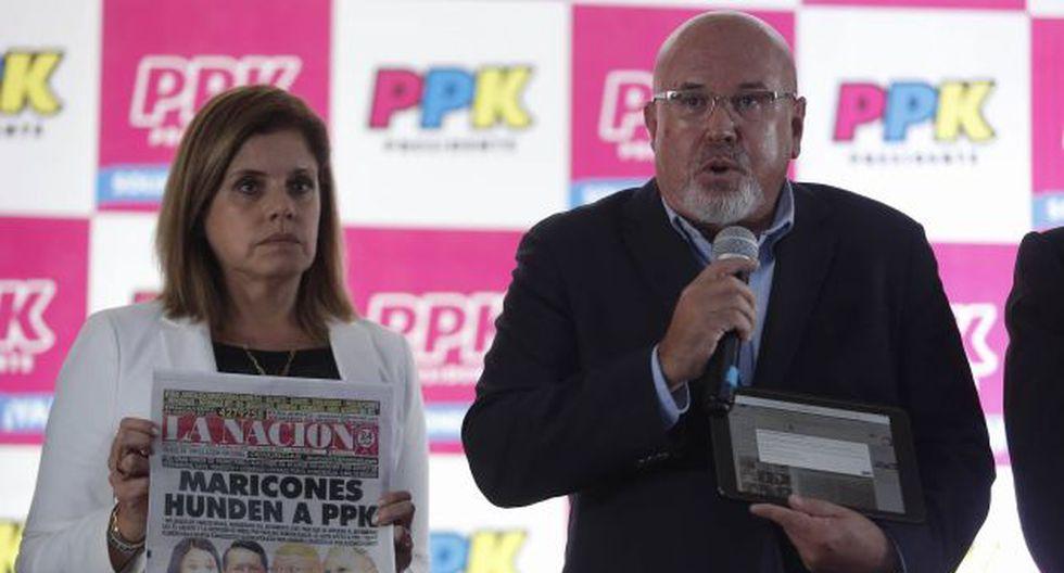 PPK: Carlos Bruce denunció que le bloquearon su cuenta de Facebook. (Atoq Ramón)