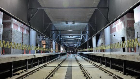 Así va el avance de la construcción de las estaciones de la Línea 2 del Metro de Lima. (Foto: Difusión)