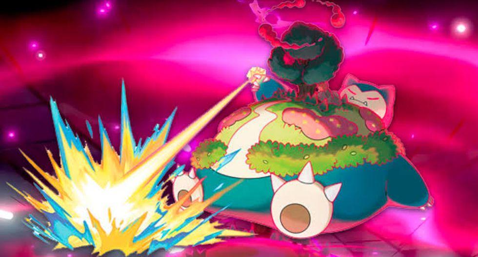 'Gigantamax Snorlax' llegará con el nuevo evento de 'Pokémon Sword and Shield'. (Nintendo)