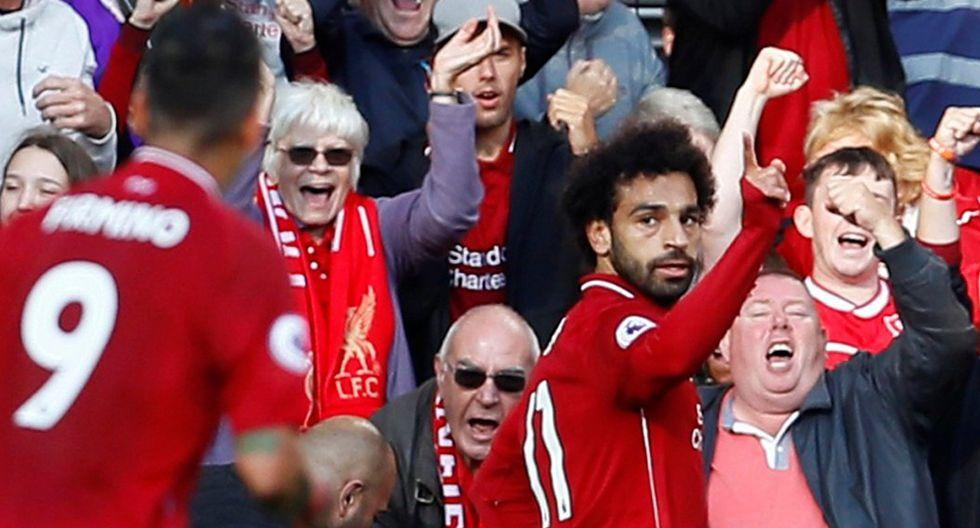 Mohamed Salah alcanzó impresionante marca con Liverpool. (Reuters / ESPN)