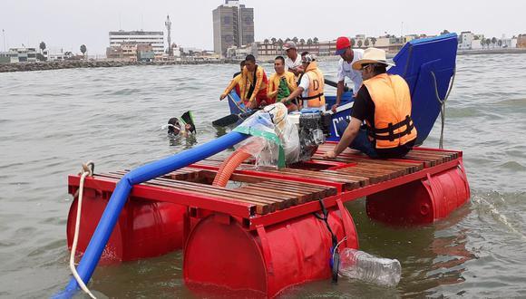 La primera prueba se desarrolló en la playa Carpayo. (Municipalidad del Calla)