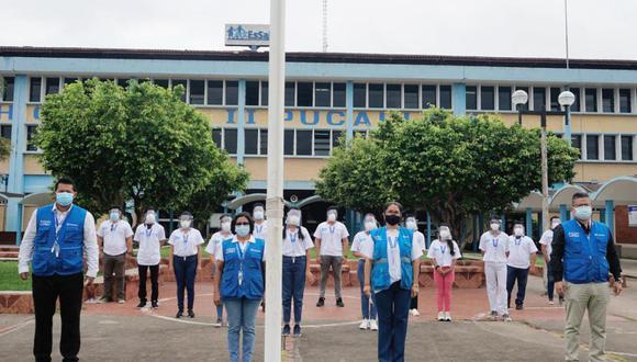 Ucayali: estudiantes de medicina se suman como voluntarios para fortalecer jornada de vacunación contra el COVID-19