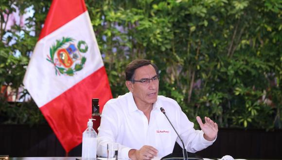 Presidente Vizcarra anuncia que se hará un registro de infractores al estado de emergencia. (Foto: Presidencia de la República)