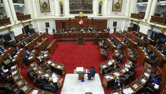 El Pleno del Congreso de la República aprobó, con 111 votos a favor la conformación de la Comisión de Ética Parlamentaria. (Foto: Congreso de la República)