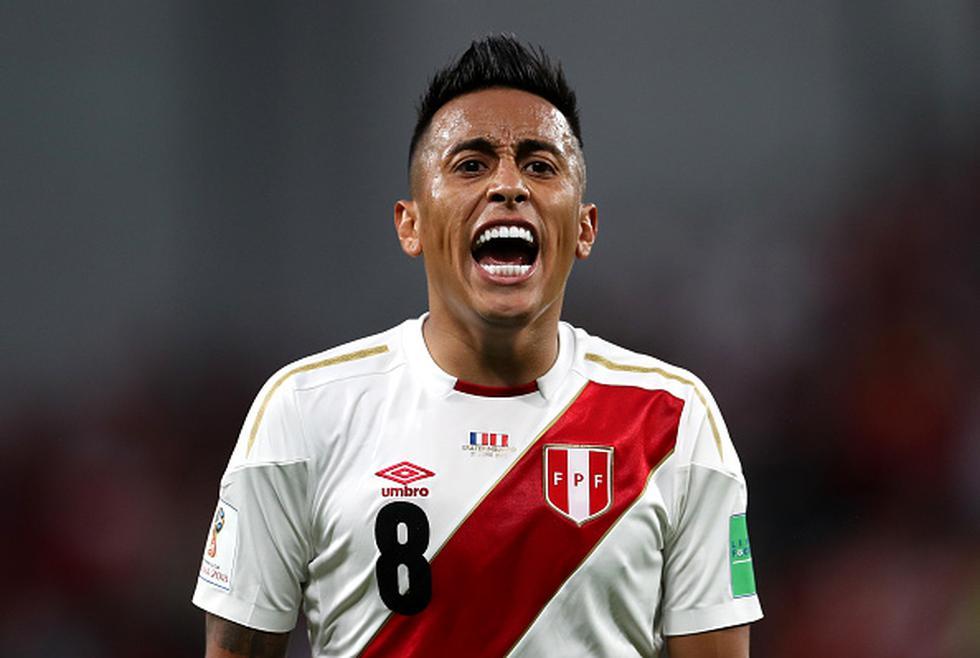 """""""Christian Cueva está haciendo fuerza entre bastidores para conseguir la liberación y lo que nos queda es esperar"""", reveló el representante de Independiente. (Getty)"""